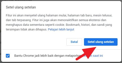 3 Cara Cepat Bersihkan Chrome dari Virus 1111 5