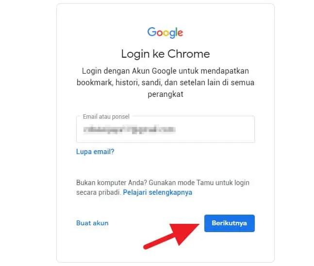 Cara Kirim Alamat Web Chrome PC ke Android 3
