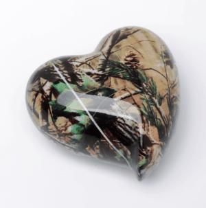 Camouflage Keepsake Heart