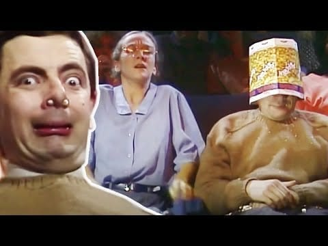 Bean At The Cinema Funny Clips Mr Bean Official