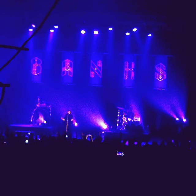 #A highly emotional #Banks last night at @BrixtonAcademy #London This girl is going places
