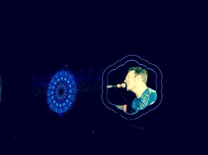 Hola, Chris #Coldplay (@ Estadi…