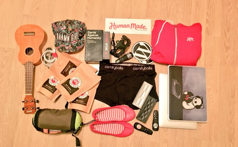 Packing for the next #hmroadtrip,…