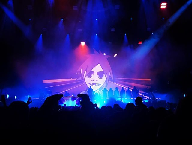 About last night… #Gorillaz #Berlin #humanztour #traveldiary #nomadstories