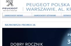 Peugeot Polska Oddział w Warszawie, Al. Krakowska