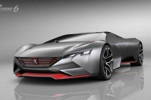 Piekielnie szybki Peugeot Vision Gran Turismo
