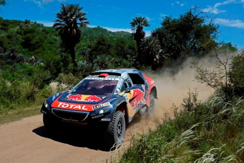 321 DESPRES Cyril (fra) CASTERA David (fra) PEUGEOT action during the Dakar 2016 Argentina,  Bolivia, Etape 12 / Stage 12,  San Juan - Villa Carlos Paz,  from  January 15, 2016 - Photo Eric Vargiolu / DPPI