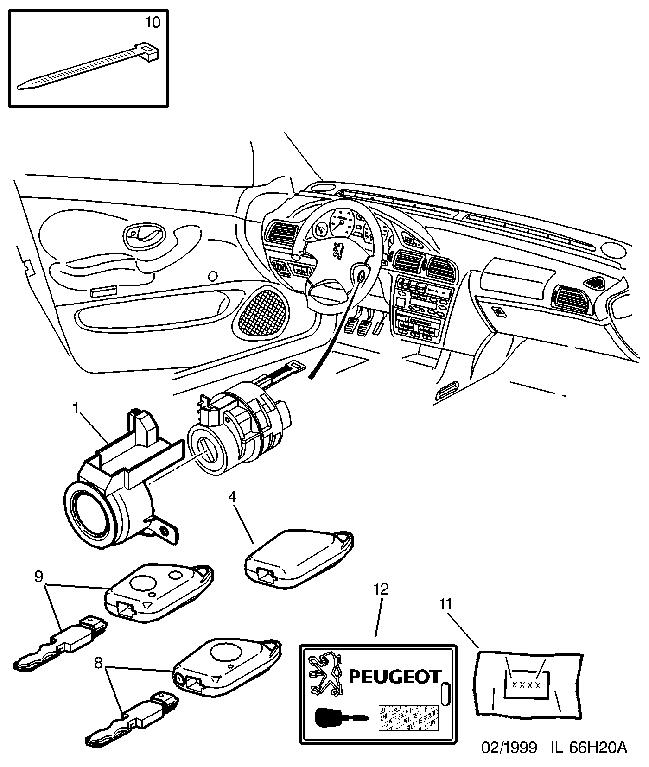 peugeot 207 fuse box fault