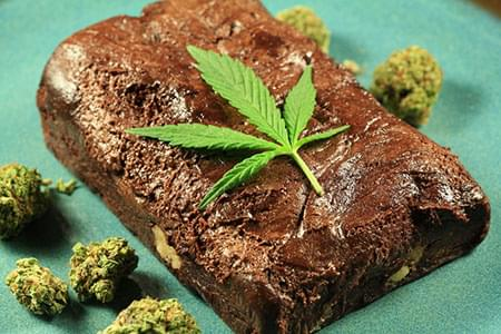 Brownie au cannabis