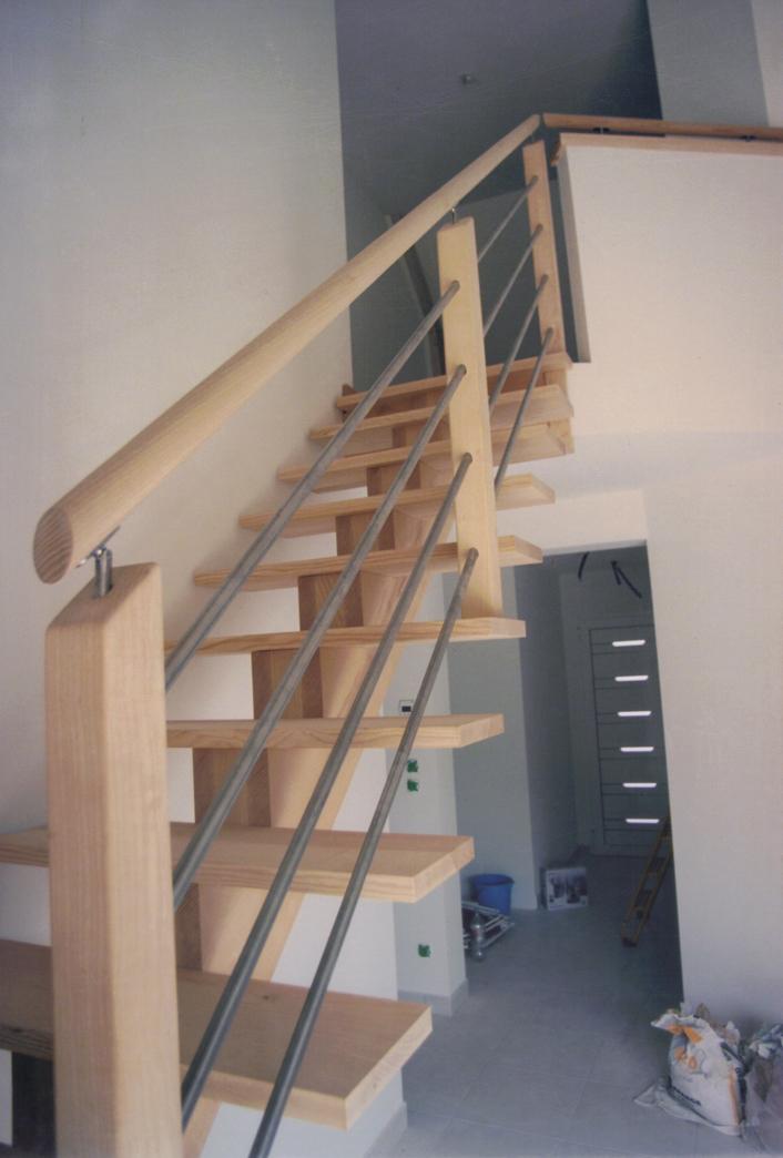 Escalier en bois moderne  PEYON