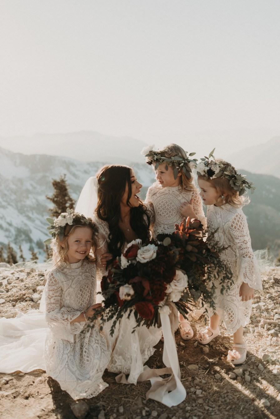 , Snowbird, UT Summit Wedding