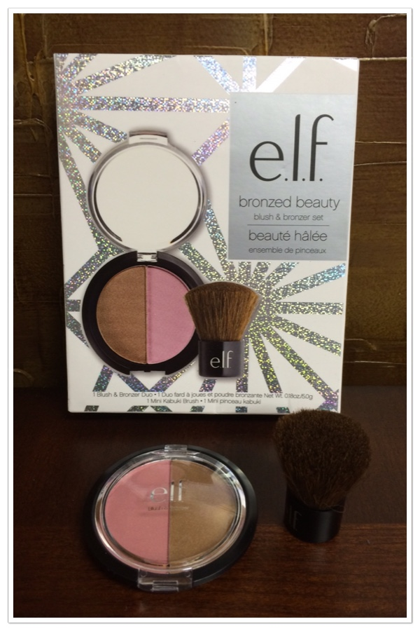 e.l.f. bronzer and  blush