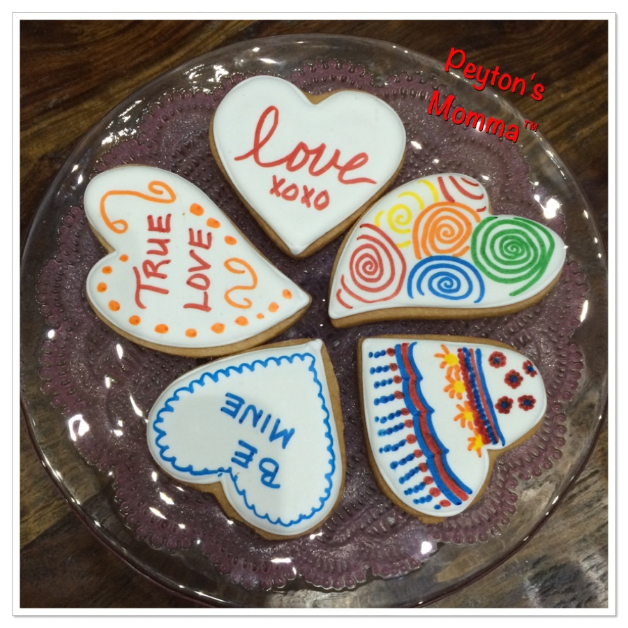 Eleni's New York Color Me! Cookies