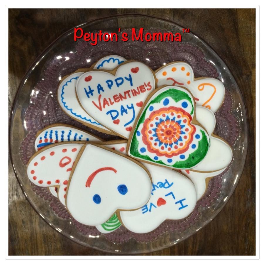Eleni's New York Valentine's Day Color Me! Cookies
