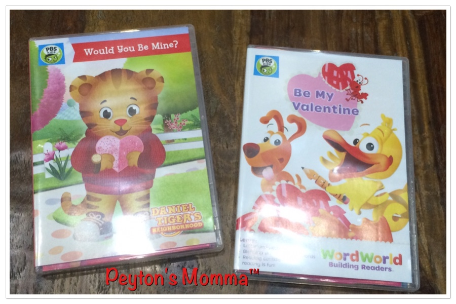 Daniel Tiger's Neighborhood Would You Be Mine? Word World Be My Valentine