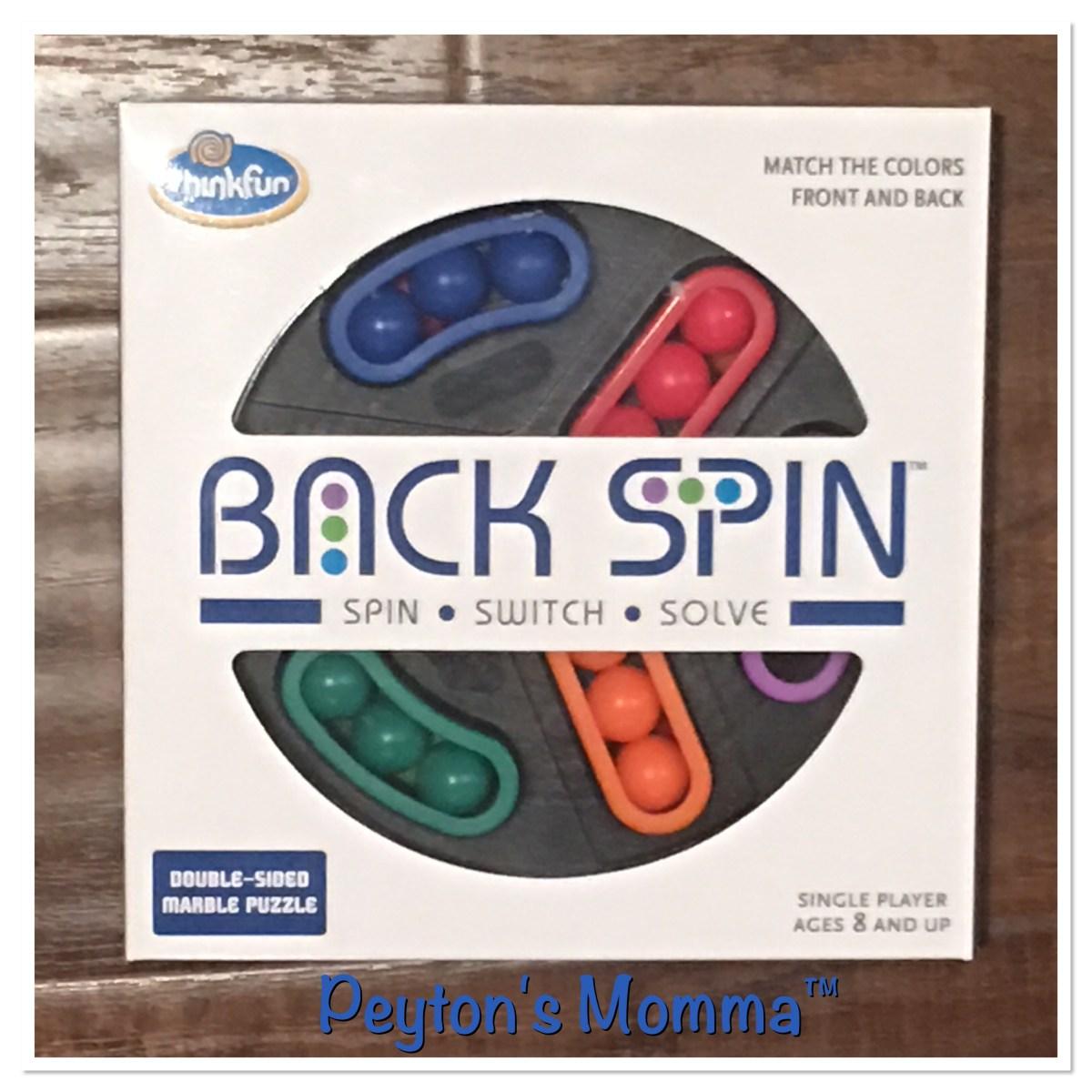 BackSpin Puzzle by ThinkFun