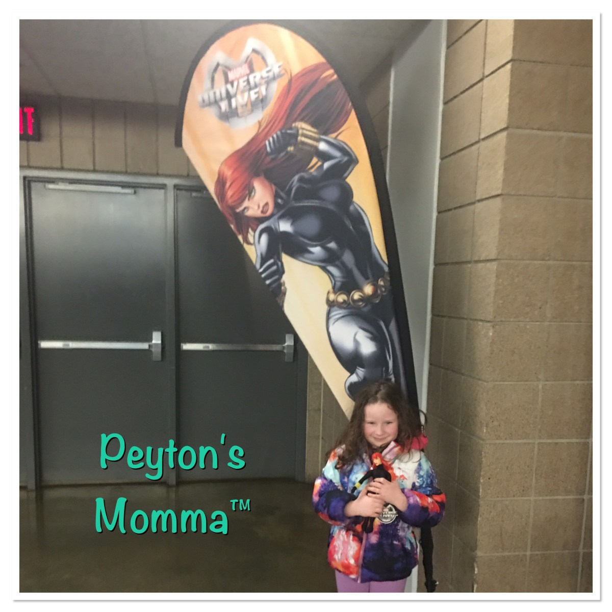 Peyton's Momma Black Widow Marvel Universe Live