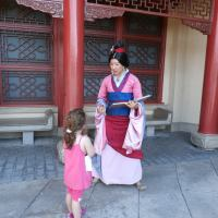 Finding Mulan at Disney World