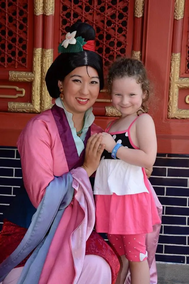 Mulan Meet and Greet