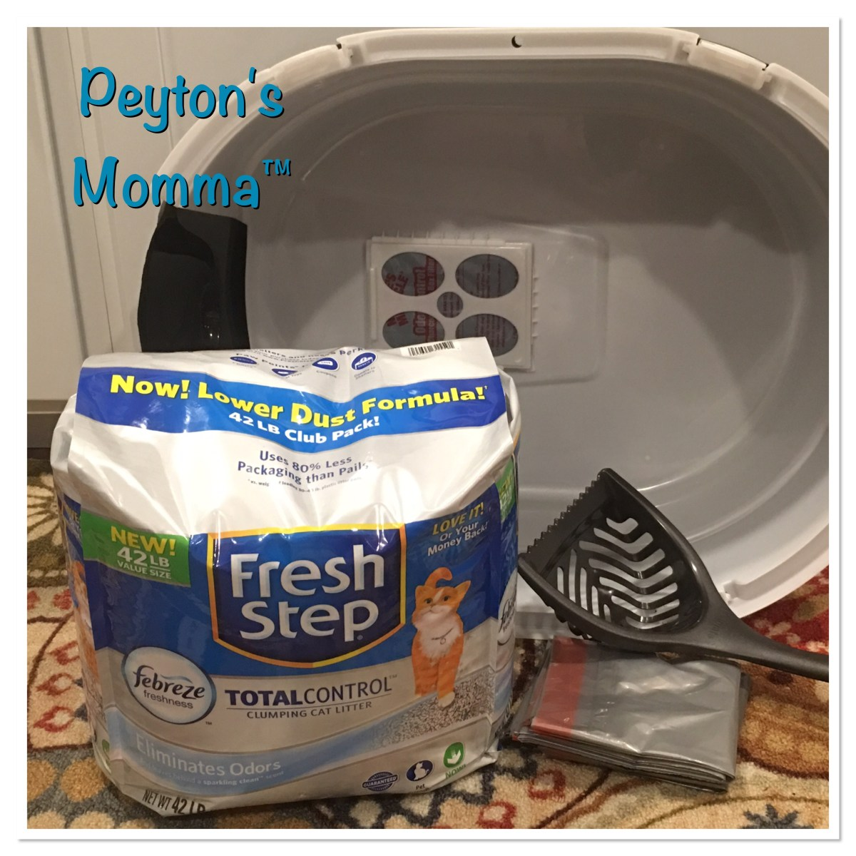 Fresh Step Total Control with the power of Febreze