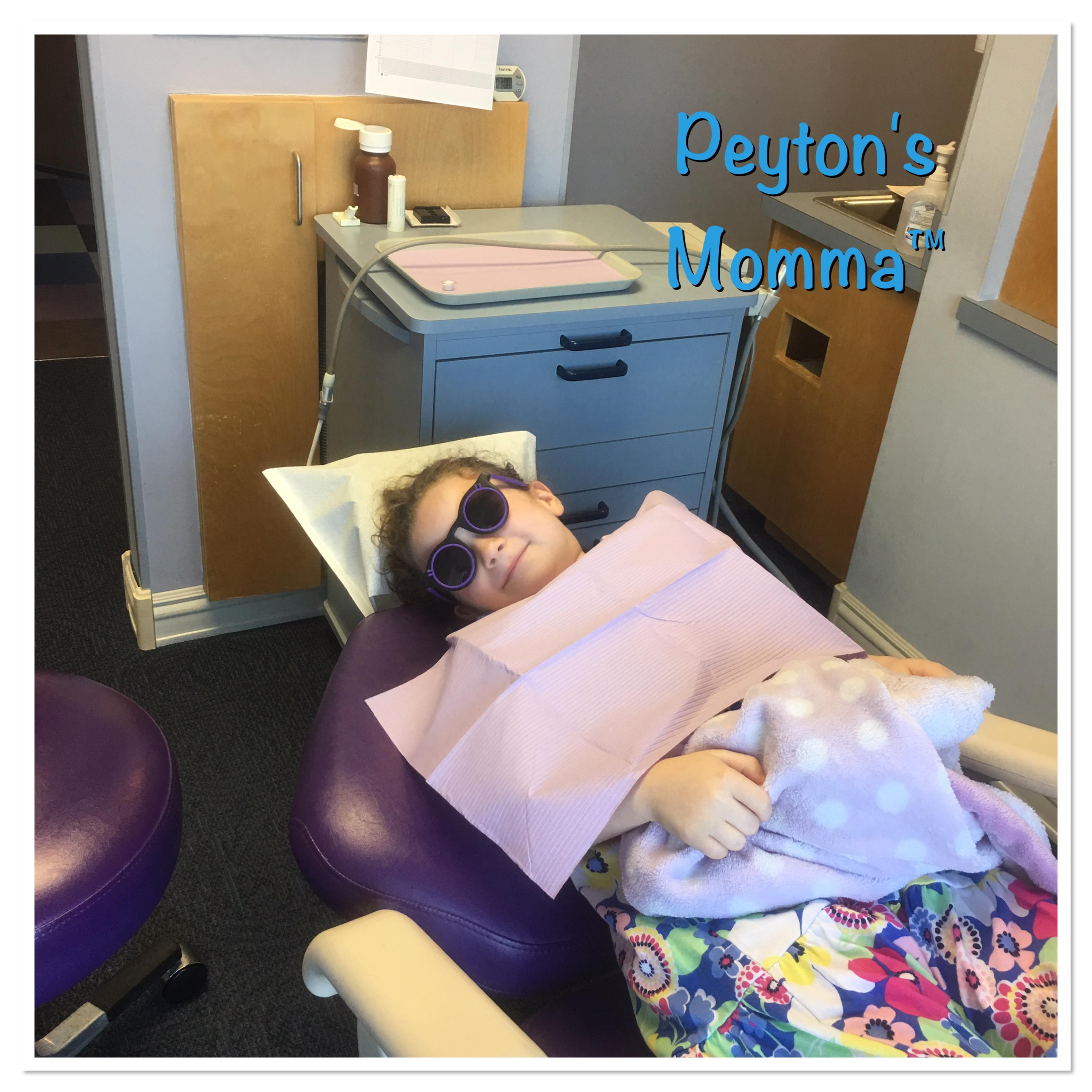 Peyton's Dental Visit
