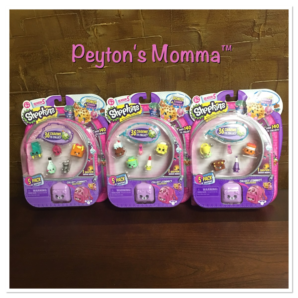 Shopkins Season 5 Five Packs