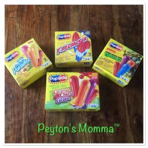 Popsicle Firecrackers, Teenage Mutant Ninja Turtles, Tropical Fruit