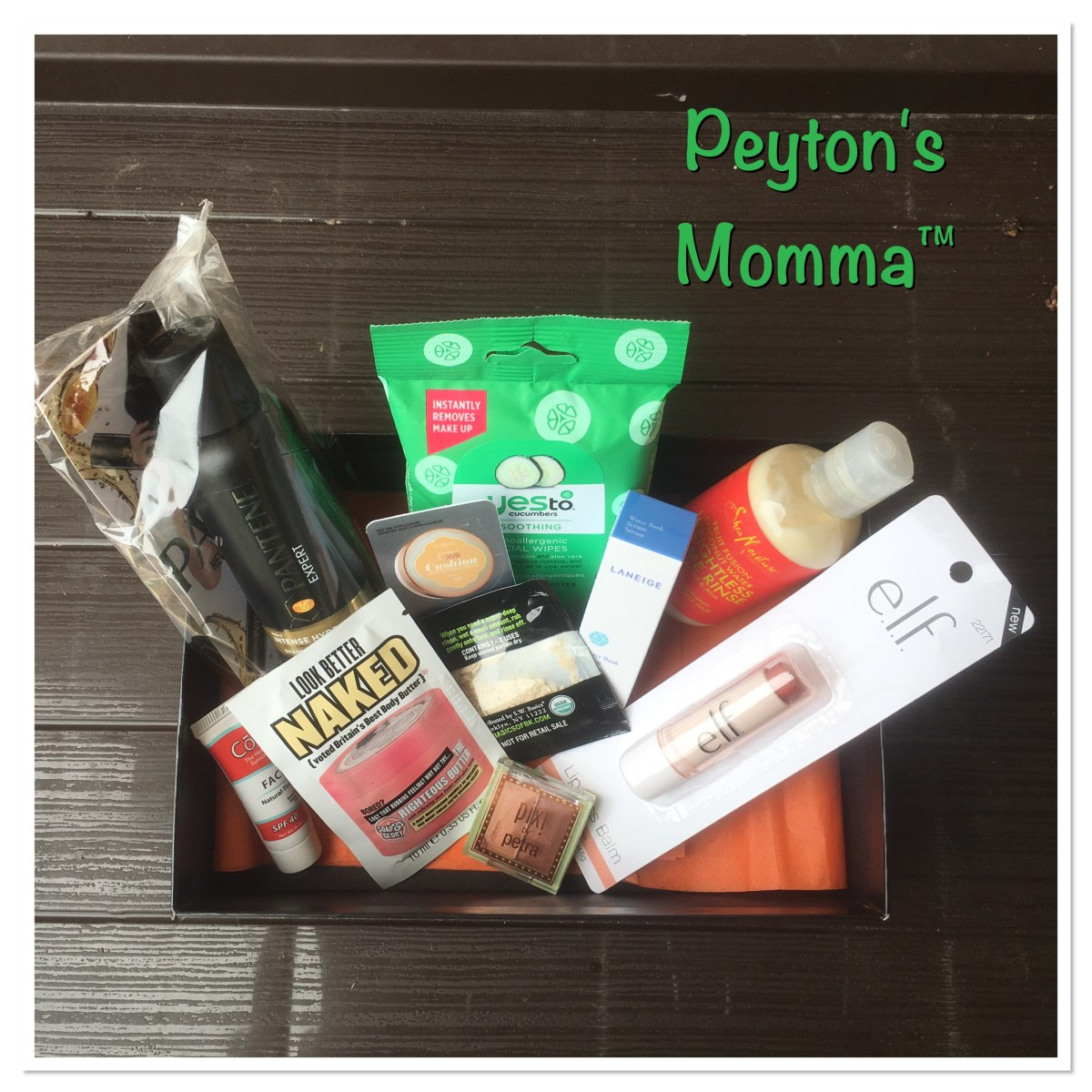 Target Beauty Box June 2016