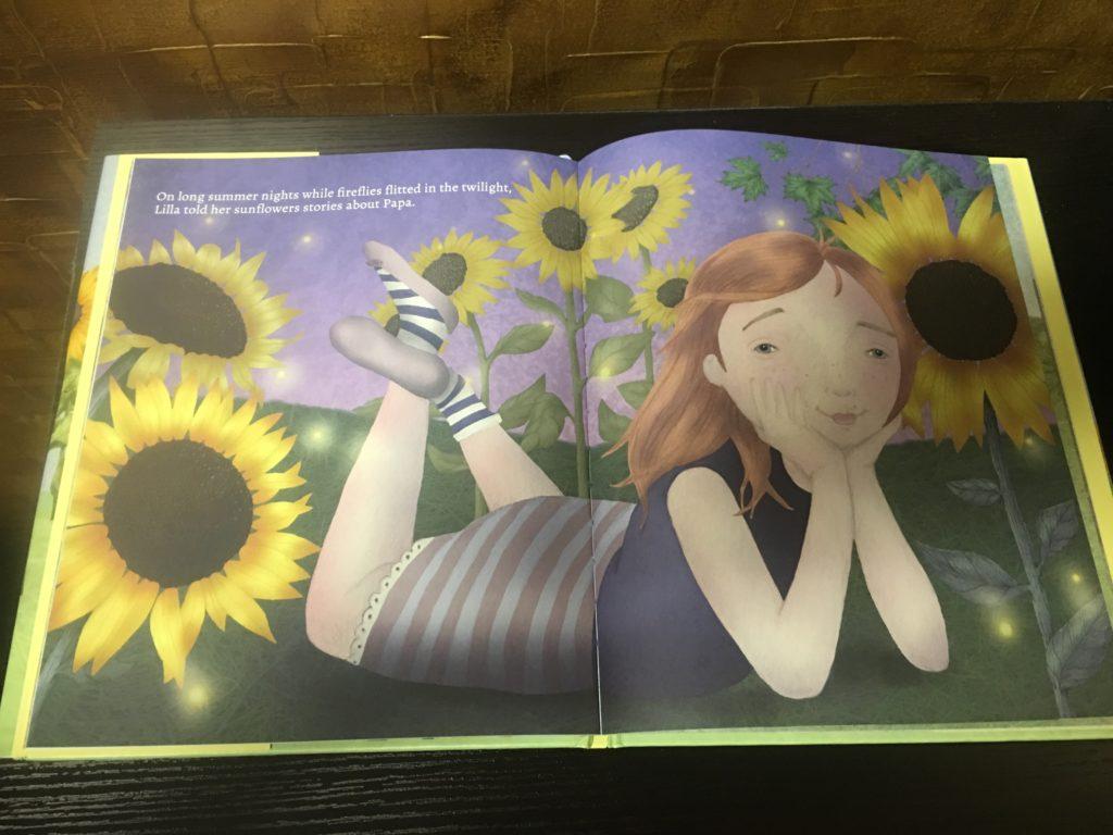 Lilla's Sunflowers Summer Night Page