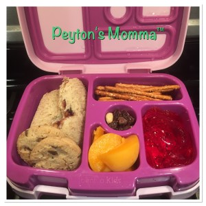 Butterfly Peanut Butter and Jelly Bento Box