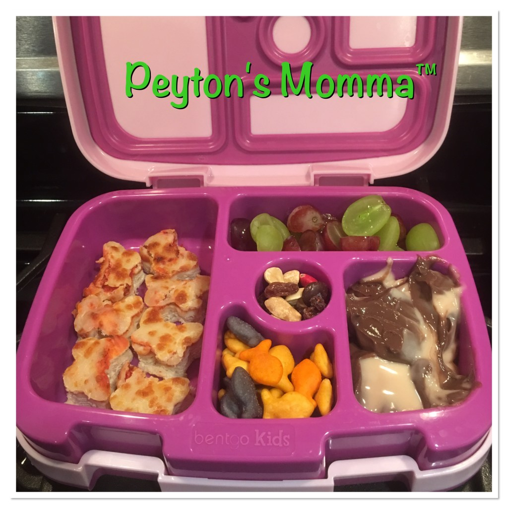 Butterfly Pizza Bites Bento Box