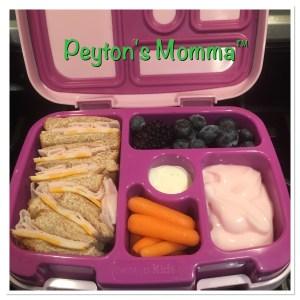 Turkey and Cheese Bento Box