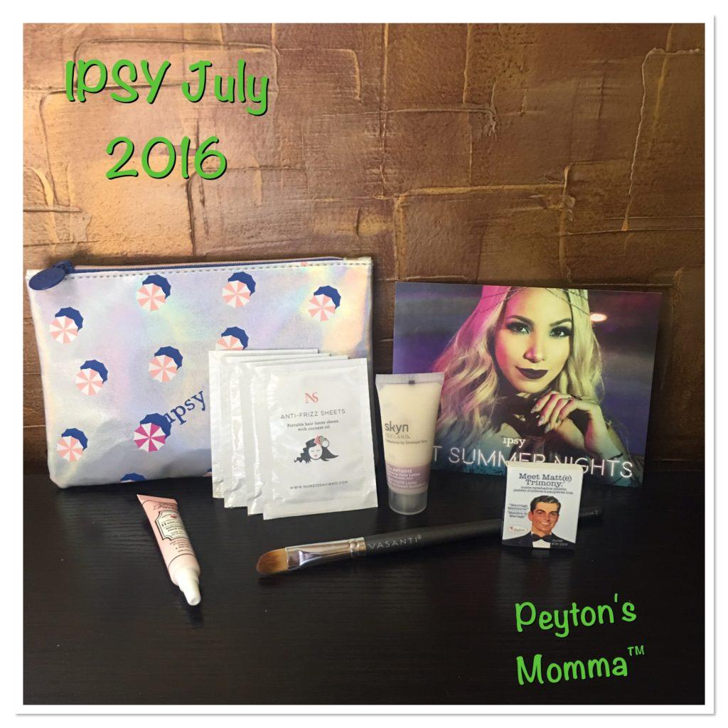 IPSY July Bag 2016
