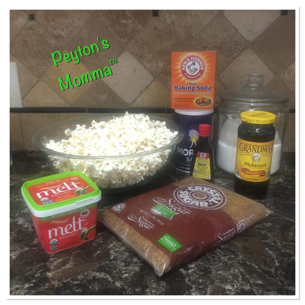 MELT Organic Caramel Popcorn Ingredients