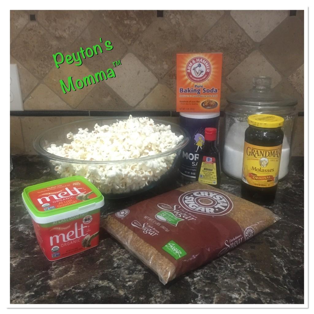 MELT Organic Caramel Popcorn Ingredients