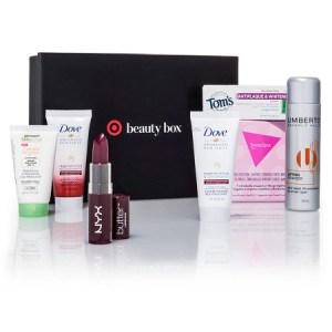 July Target Beauty Box Fresh and Fabulous