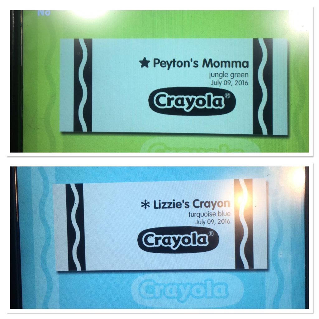 Crayola Experience Crayon Wrapper Design