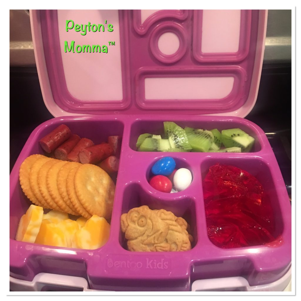 Cheesy Hearts and Crackers Bento Box