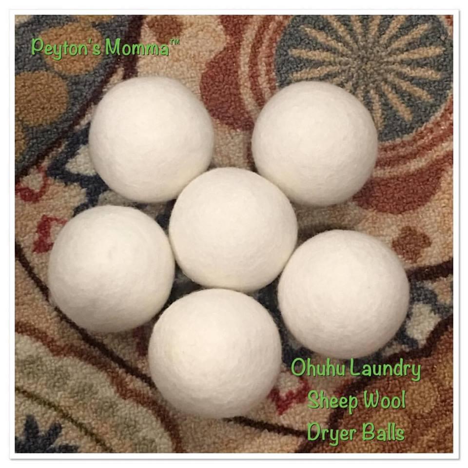 Ohuhu Wool Dryer Balls