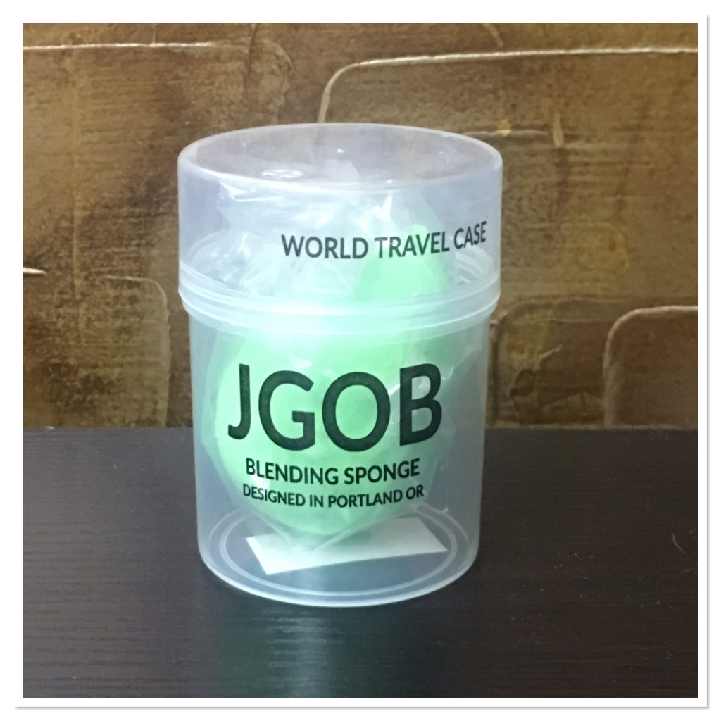 JGOB Travel Case with Blending Sponge