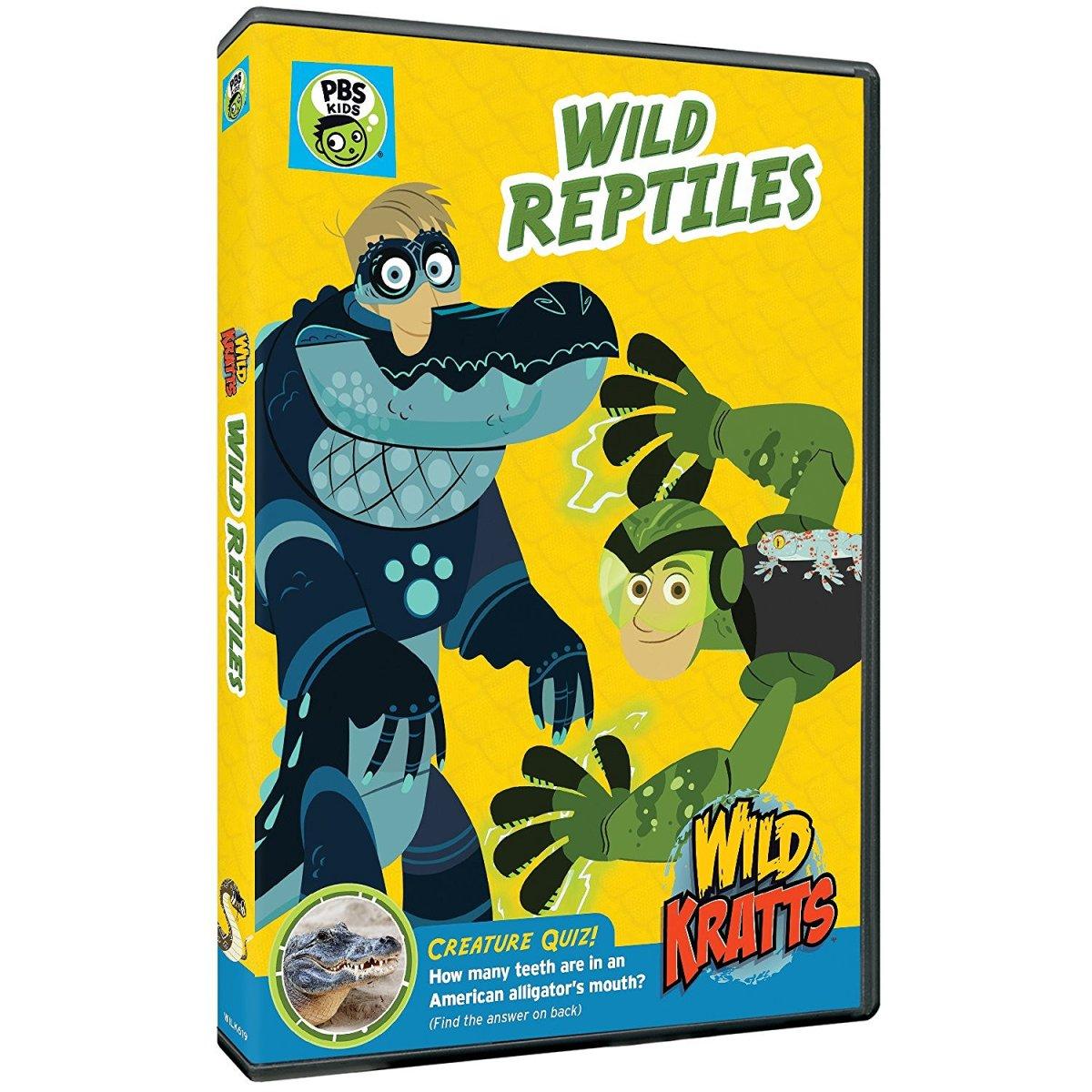 Wild Kratts Wild Reptiles PBS Kids
