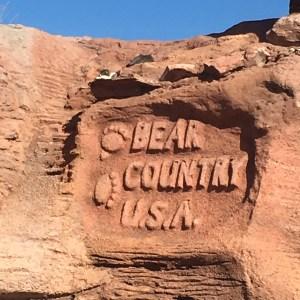 Bear Country USA Sign