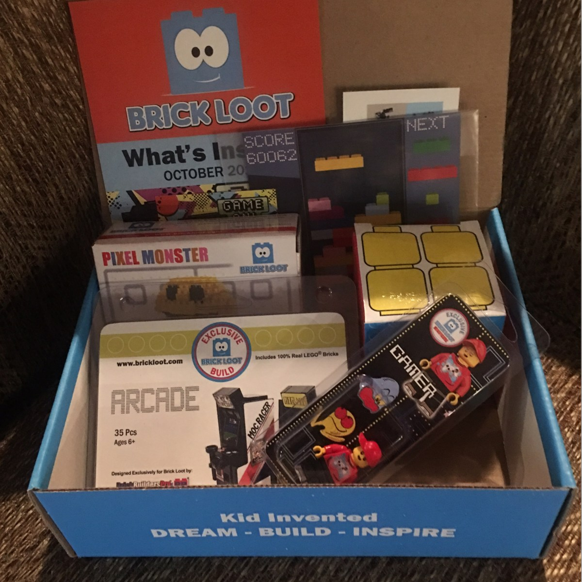 October Brick Loot Subscription Box
