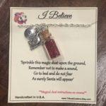 I Believe in Santa Necklace by Dash Treasures