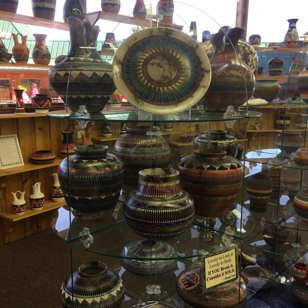 Pottery at Crazy Horse Memorial