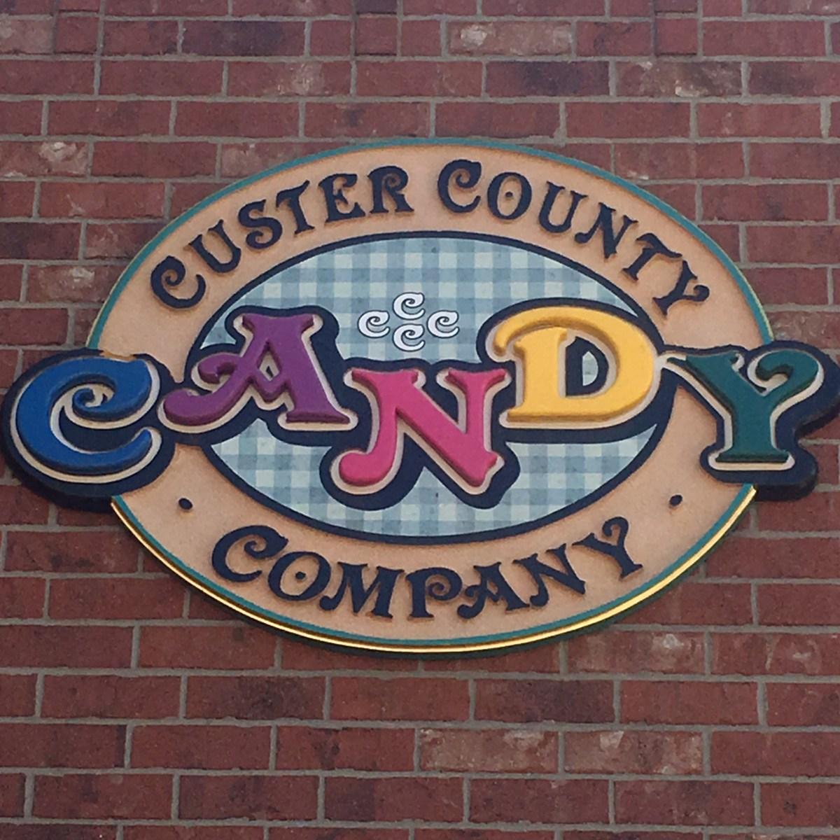 Custer County Candy Store Custer South Dakota