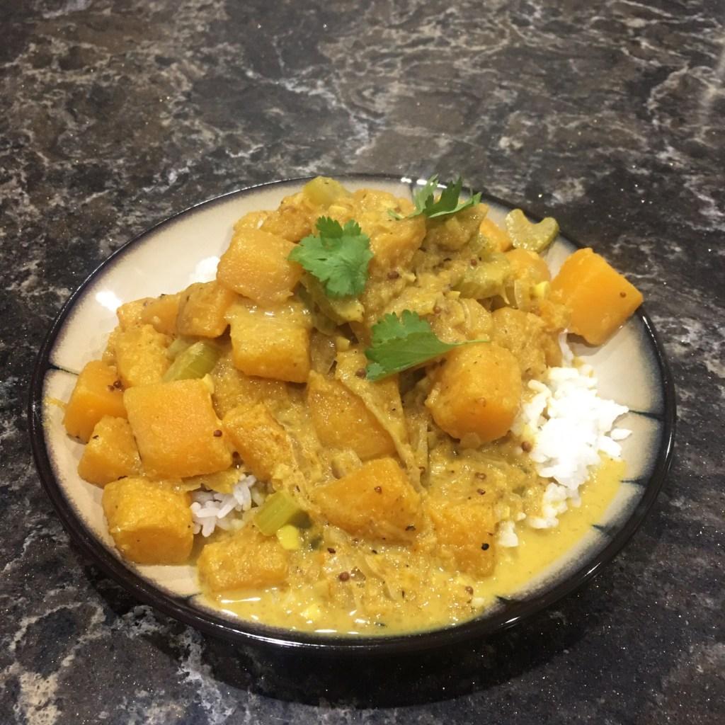 Blue Apron South Indian Squash Curry