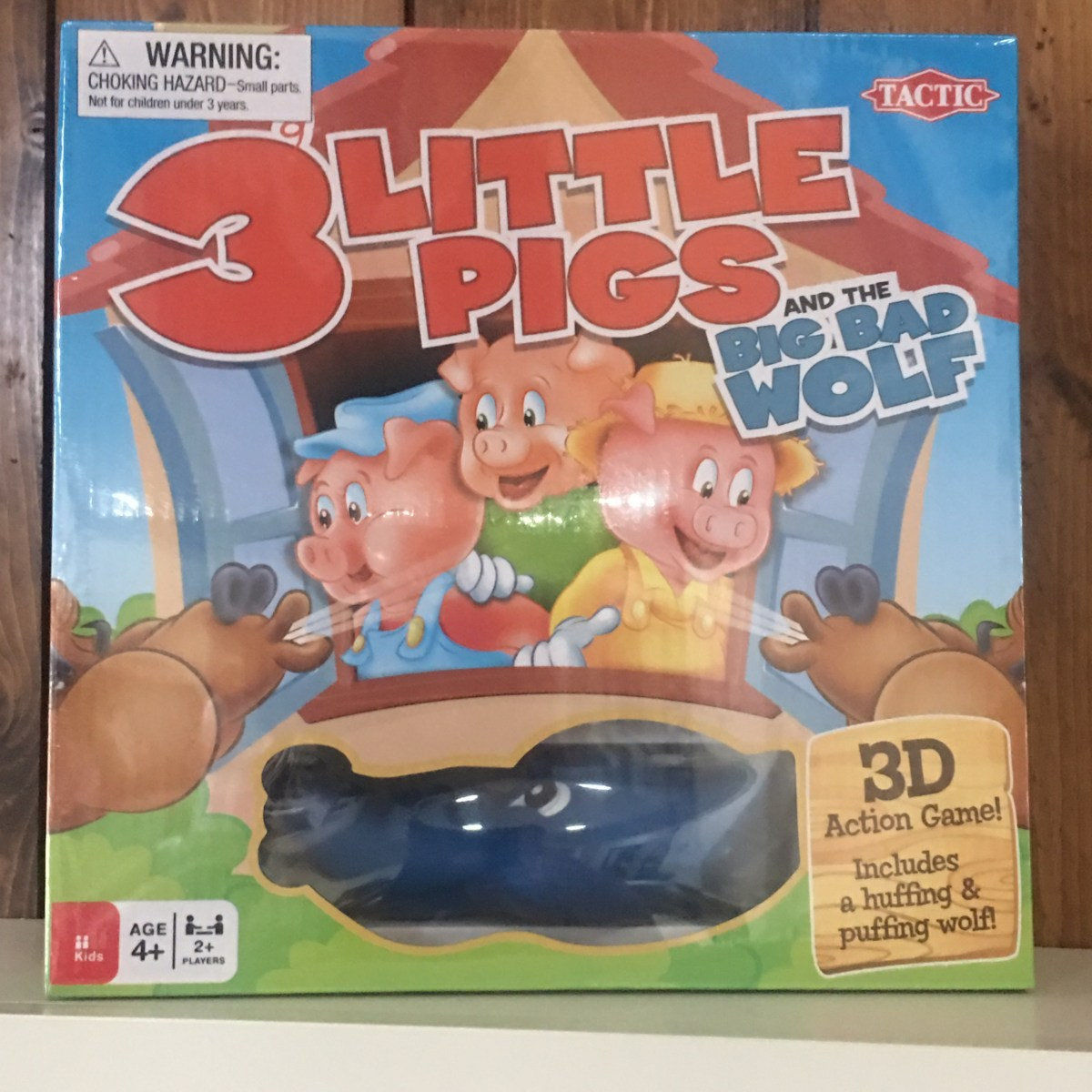 3 Little Pigs Board Game by Tactic Games
