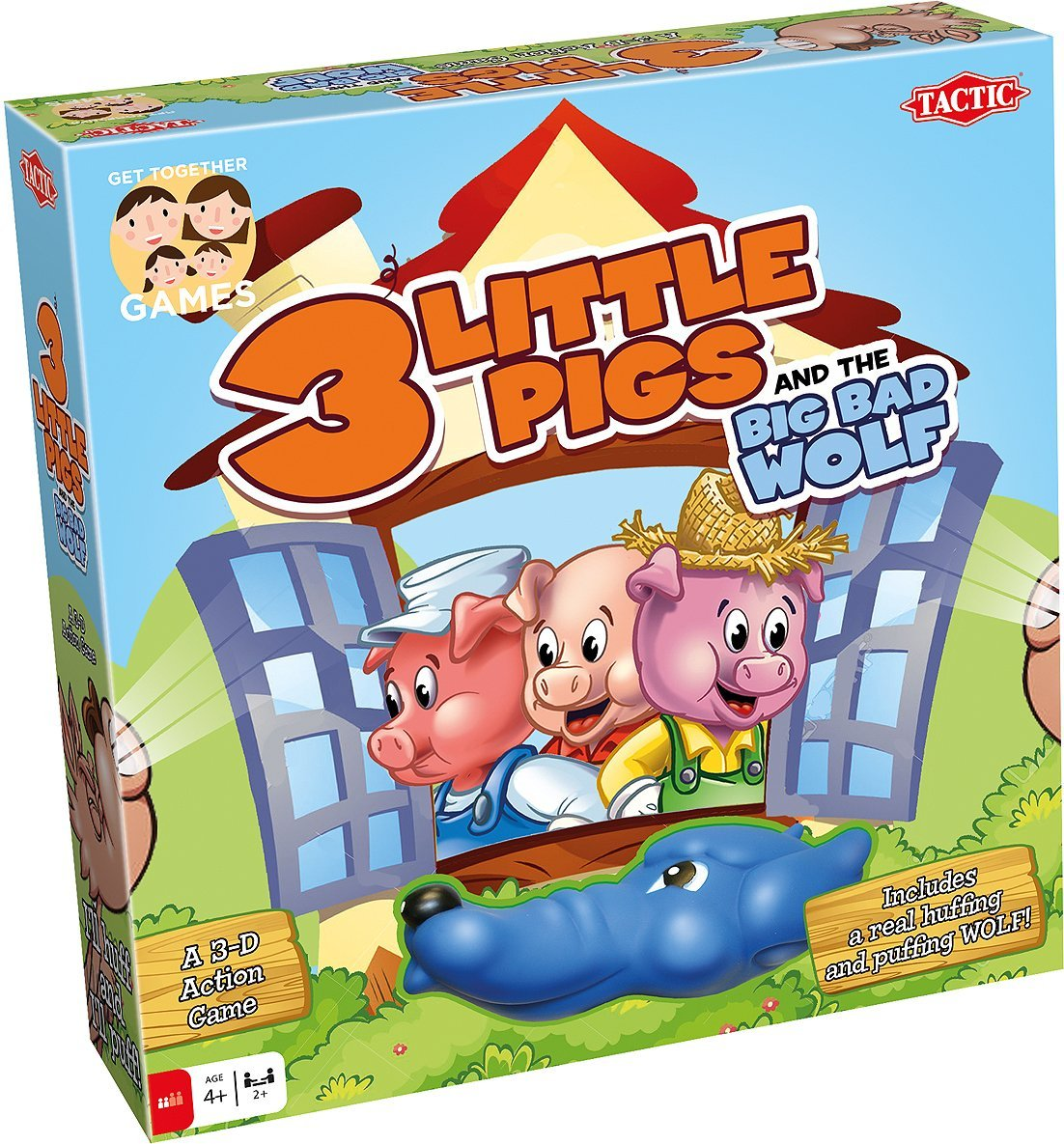 3 Little Pigs And The Big Bad Wolf