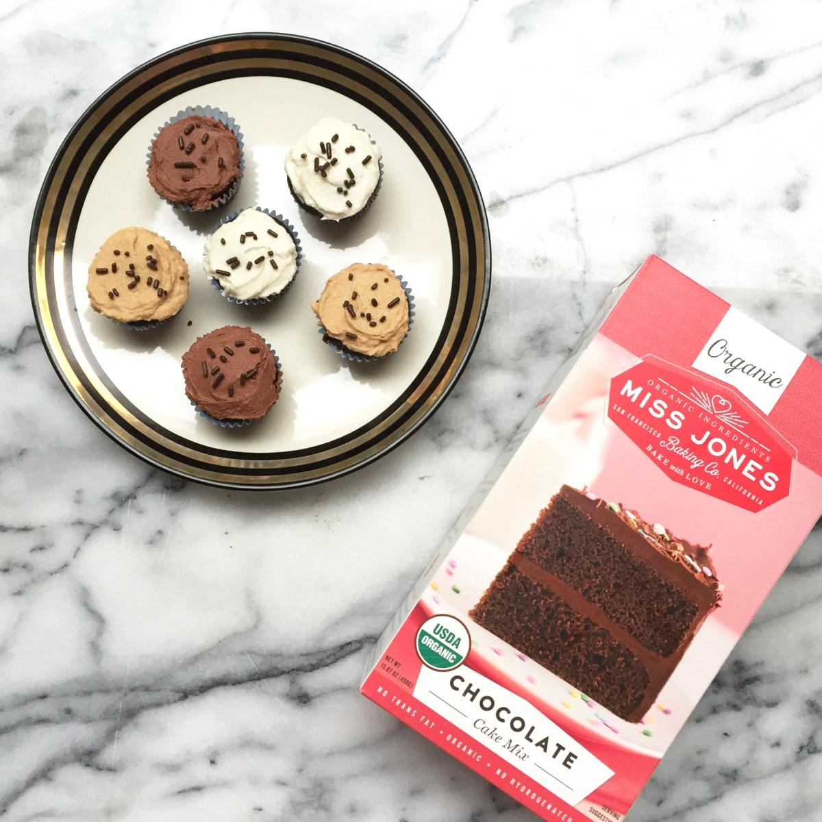 Miss Jones Cake Mix and Cupcakes